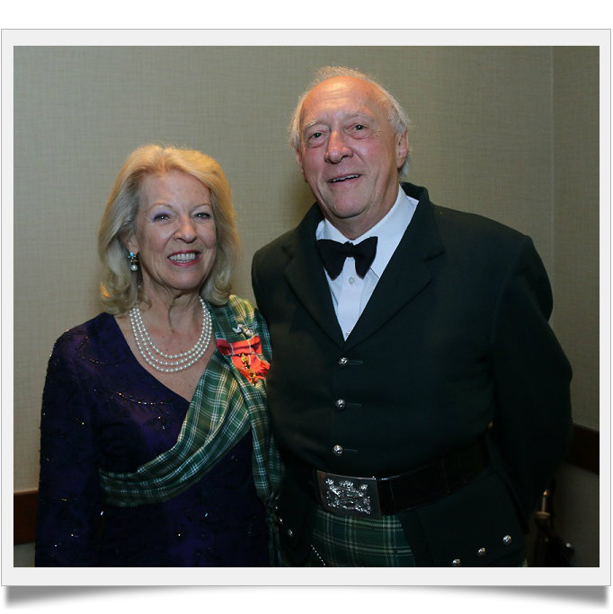 Lord Godfrey Macdonald and Lady Claire
